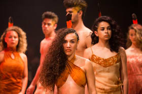 Indigenous fashion leaves bold impression at Cairns Art Fair