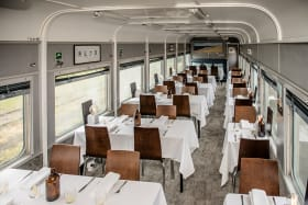 This train brings glamour back to Victoria's rail network
