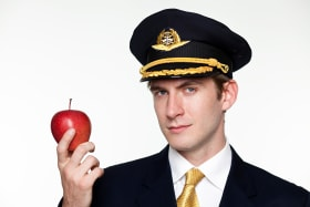 Forbidden fruit: The apple that cost a plane passenger $US500