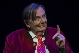 Barry Humphries review: A close encounter with a comic genius