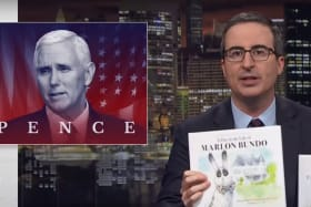 John Oliver's gay bunny book goes to number one