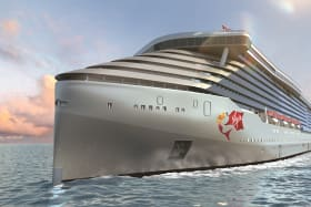 Virgin Voyages reveals the name of its first, adults-only ship