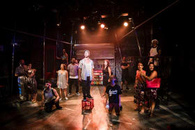 <I>In The Heights</I> fizzes with energy.