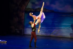 High point: Rebekah Petty and William Douglas in Le Corsaire.
