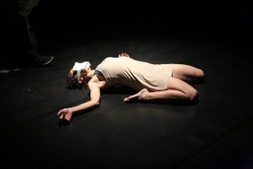 Cloe Fournier in her work, Humanoid.