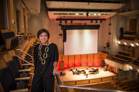 "Hidden gem: Elaine Chia wants the City Recital Hall to be ""part of Sydney's fabric""."