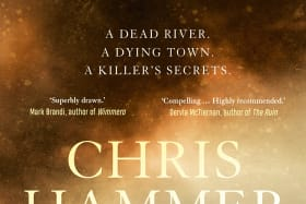 Chris Hammer's Scrublands is riding high in the Australian fiction bestsellers chart.
