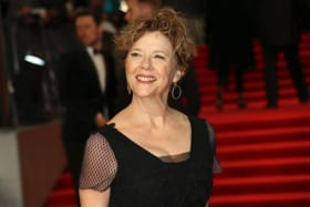 Annette Bening at this week's BAFTA Awards in London. She was nominated for Best Actress in a Leading Role but missed out on an Oscar nomination.