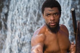 Black Panther (starring Chadwick Boseman) is a box office hit.