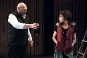 Jonathan Mill and Francesca Savige in Moby Dick.