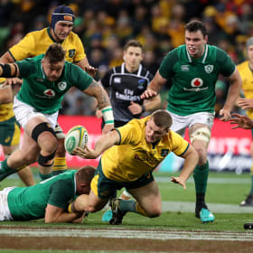 Australia v Ireland live: Wallabies look to bounce back in Test series decider