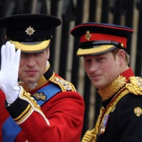 Prince William returns the favour for Harry's wedding