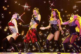 Pussycat Dolls in Melbourne in 2009.