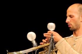 Dale Gorfinkel is a man of many unusual instruments.