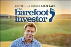 <i>The Barefoot Investor</i> tops the business best-seller chart.