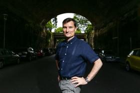 Australian Ballet's artistic director David McAllister.