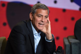 George Clooney has fired off against Donald Trump, Steve Bannon and even Hillary Clinton.
