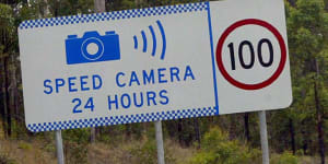 Speed camera bungle:Motorists in NSW's south escape fines but not in north