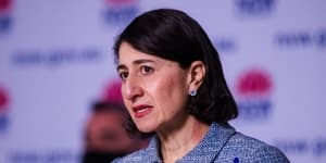 Premier Gladys Berejiklian said the crackdown on western and south-west Sydney was informed by data.