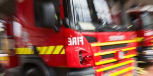 Man dies after Barrack Street fire