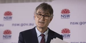 NSW Health's Dr Jeremy McAnulty provided Tuesday's COVID-19 update.