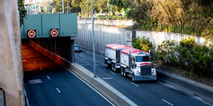 'Cost outweighs benefit':Trucking giant's toll message to drivers