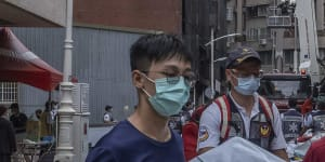 Fire leaves 46 dead,dozens injured in southern Taiwan