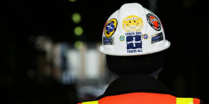 CFMEU officials were targeted in police raids on Wednesday morning.