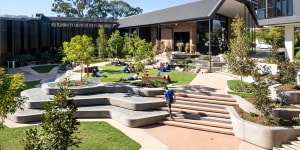 Hillbrook Anglican School,Enoggera,Queensland was among the winners of the 2021 AILA National Landscape Architecture Awards for its reimagined campus.