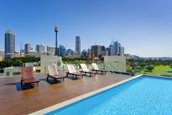 Property records show the view from the Woolloomooloo apartment.