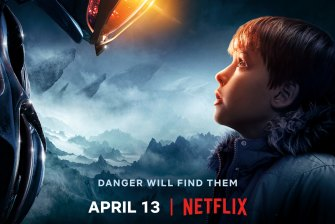 Netflix's latest reboot, the beloved sci-fi series Lost in Space, lands on April 13.