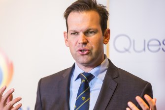 Resources Minister Matt Canavan said carbon capture and storage can cut emissions and retain access to coal-fired power.