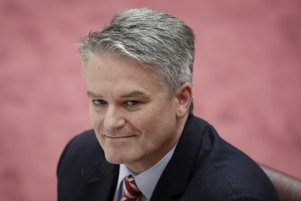 Finance Minister Mathias Cormann said Australian businesses would be at a competitive disadvantage if the company tax cuts are not passed.