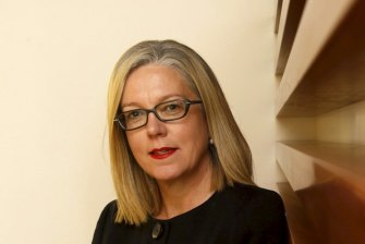 """Productivity Commission deputy chair Karen Chester says the report on super is """"jersey agnostic""""."""