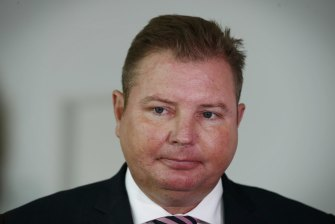 Workplace minister Craig Laundy confirmed Agri Labour would be suspended from the Seasonal Worker Program.