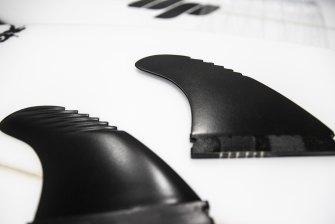3D printed Crinkle Cut fins