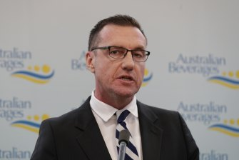 Australian Beverages Council chief executive Geoff Parker.