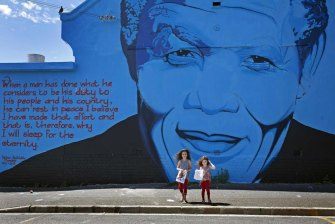 Nelson Mandela spoke of a better life for South Africans, but the reality is sharply different.