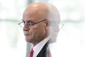 Leyonhjelm during his last two sitting weeks in Parliament.