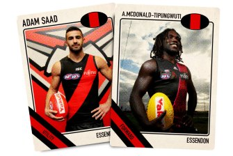 Adam Saad and Anthony McDonald-Tipungwuti: there will be holding them back under the new rules.