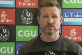 Collingwood coach Nathan Buckley has given the go ahead for Jordan De Goey to tackle Geelong in Perth.