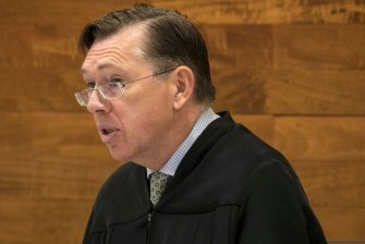 Supreme Court Justice Stephen Hall was selected to preside over Mr Edwards' trial.