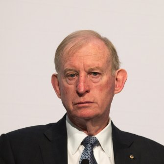 David Murray, head of the 2014 Financial System Inquiry, now AMP chairman.