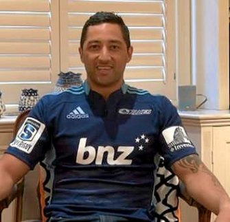 Benji Marshall regrets the day he posed in an Auckland Blues jersey on while still contracted to the Tigers.