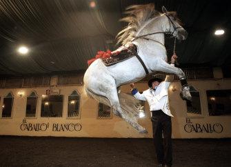 El Caballo Blanco in 1998.
