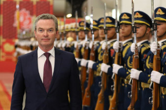 Christopher Pyne became Defence Minister under Scott Morrison.