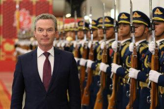 Christopher Pyne became Defence Minister under Scott Morrison.