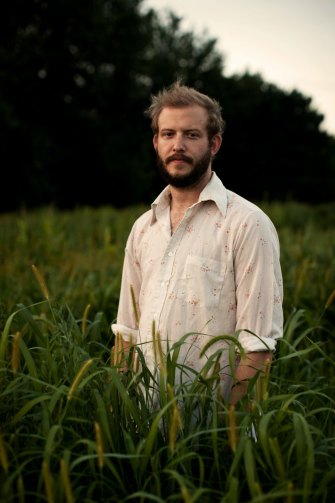"""""""He's a deeply empathetic, kind person and I think we relate somehow"""", says Dessner of Bon Iver's Justin Vernon."""