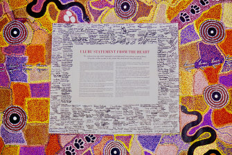 The Uluru Statement is addressed to the Australian public.