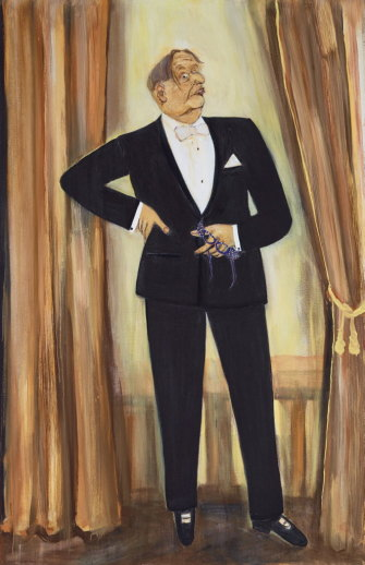 Well Dressed for a  Sydney Audience by Rodney Pople.